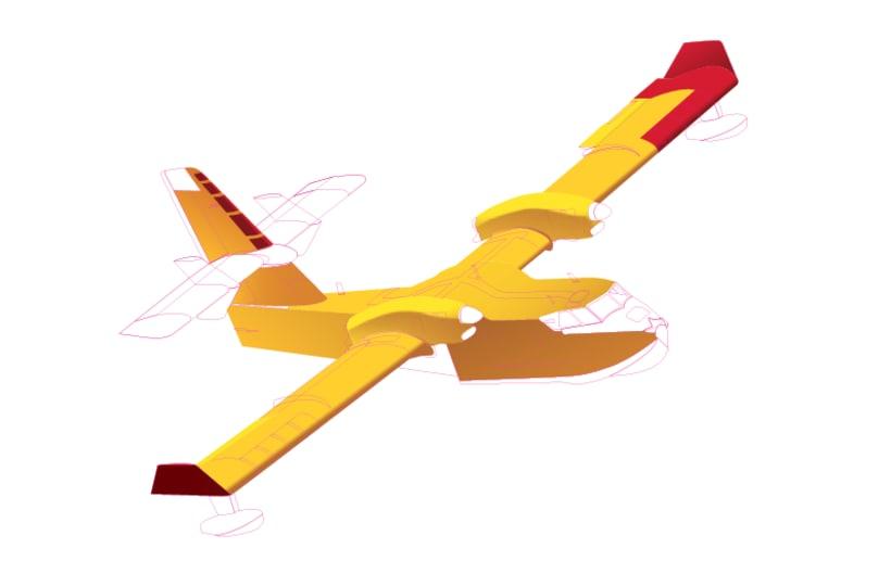 Aviones. Ilustración vectorial. 7