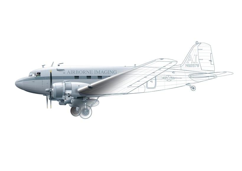 Aviones. Ilustración vectorial. 9