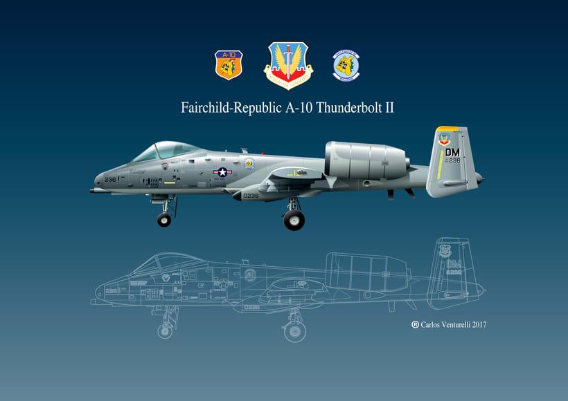 Aviones. Ilustración vectorial. 11