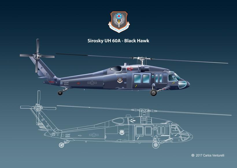 Aviones. Ilustración vectorial. 12