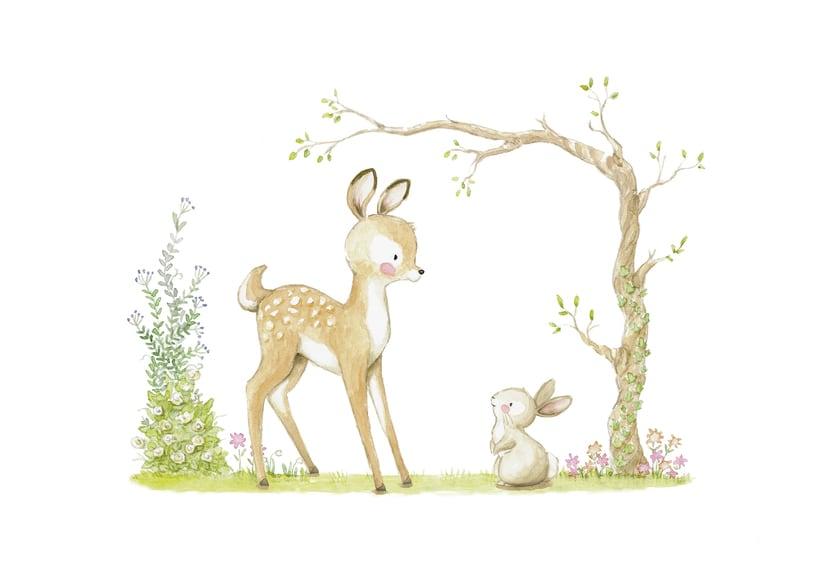 Láminas decorativas y cuadros infantiles - Menudos Cuadros -1