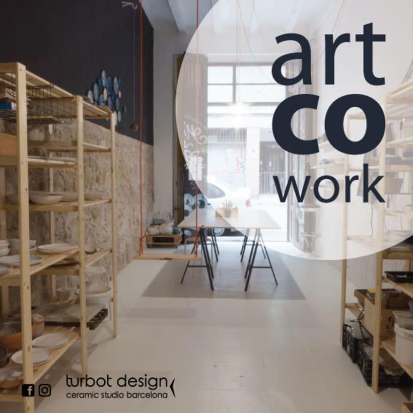 coworking creativo Poble Sec/ Barcelona 1