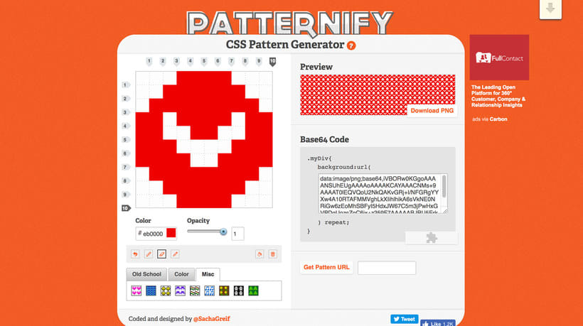 Patternify: patterns estilo pixel art al instante 1