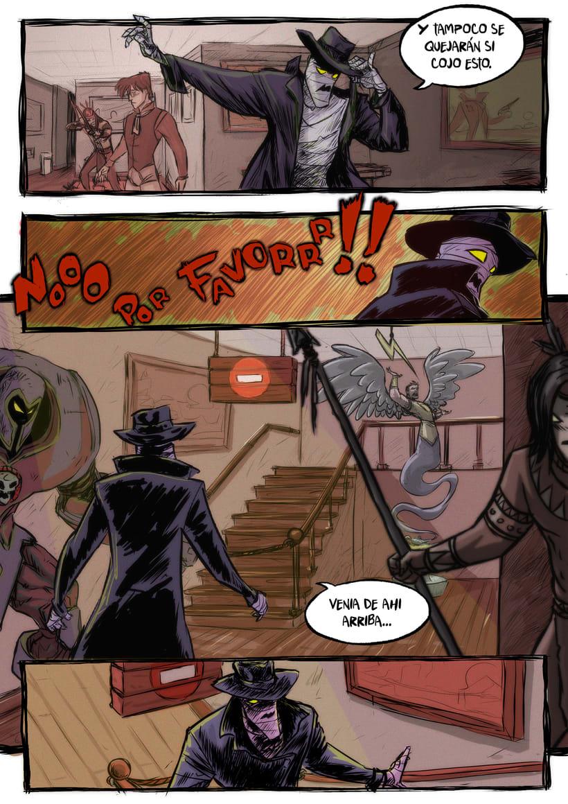 nuevas paginas de Detective Misterio 12