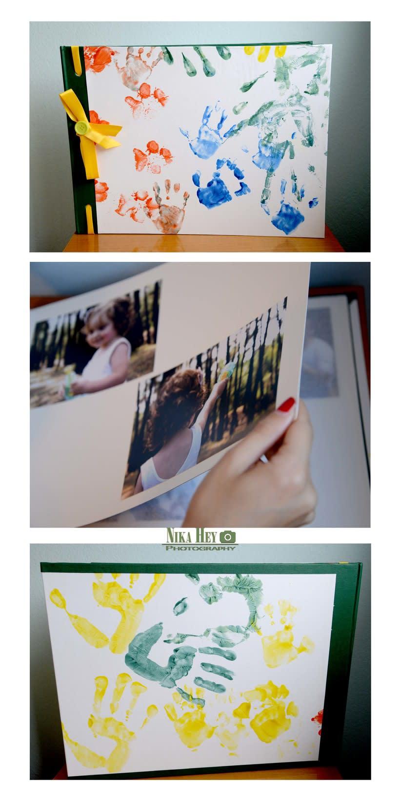 Álbum de fotos infantil 1