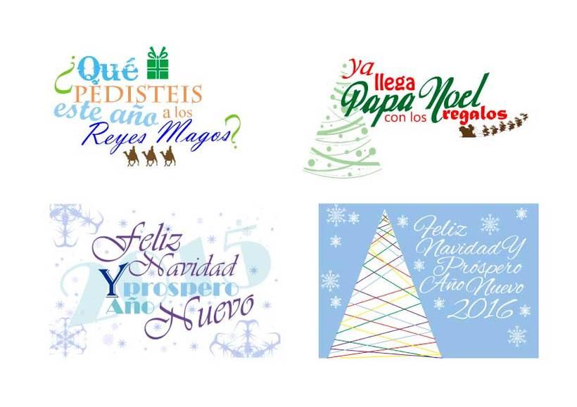 Postales de navidad -1