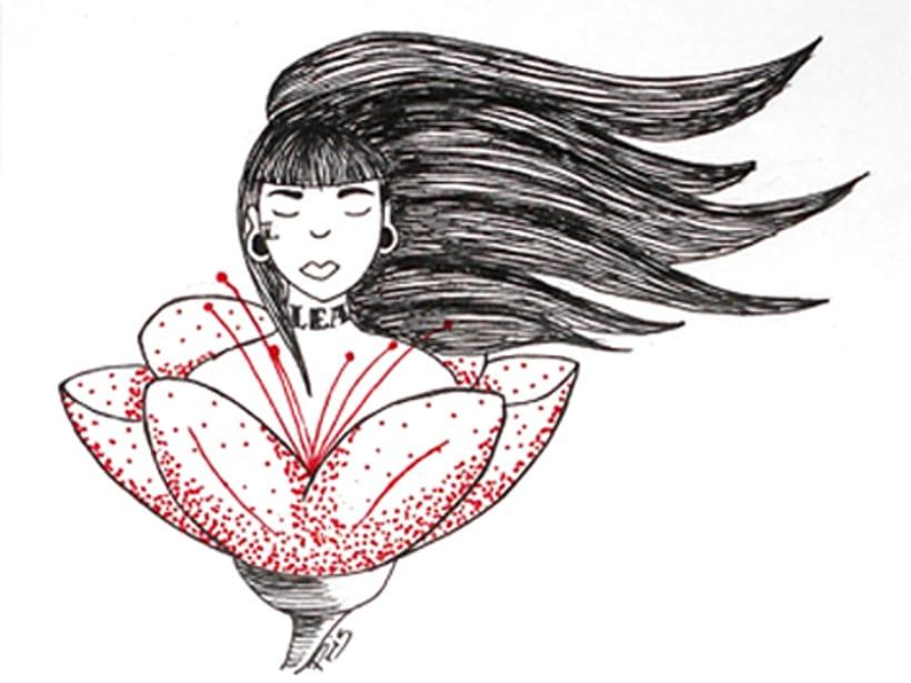 Ilustración para poemario 6