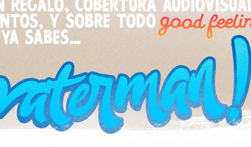 Cartel - 1er Galicia Waterman Day 3