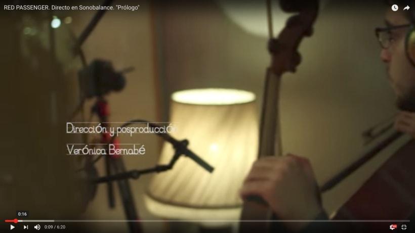 """Dirección videoclip - Red Passenger """"Prólogo"""" 1"""