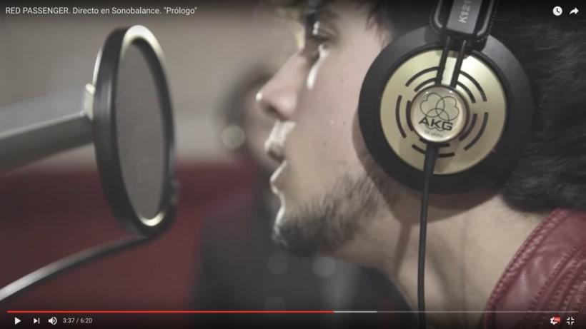 """Dirección videoclip - Red Passenger """"Prólogo"""" 3"""