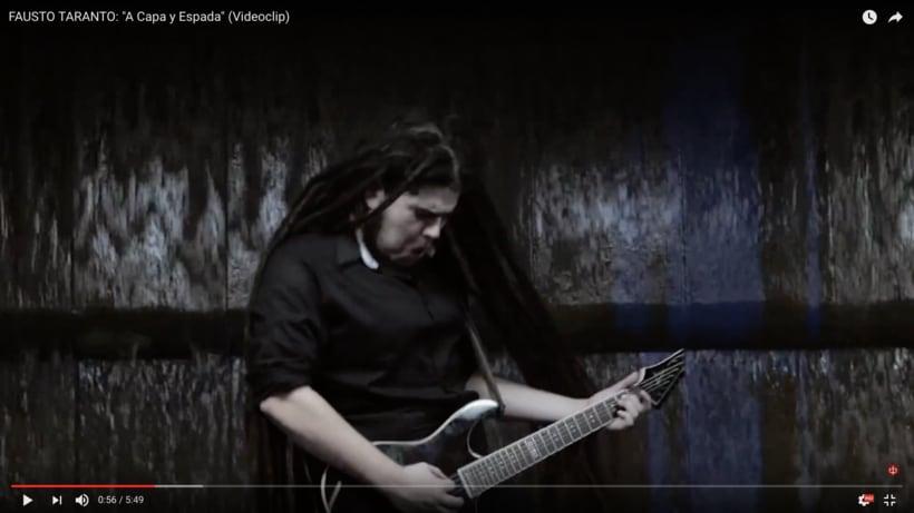 Video Clip. Fausto Taranto. Dirección, grabación y Montaje. 5