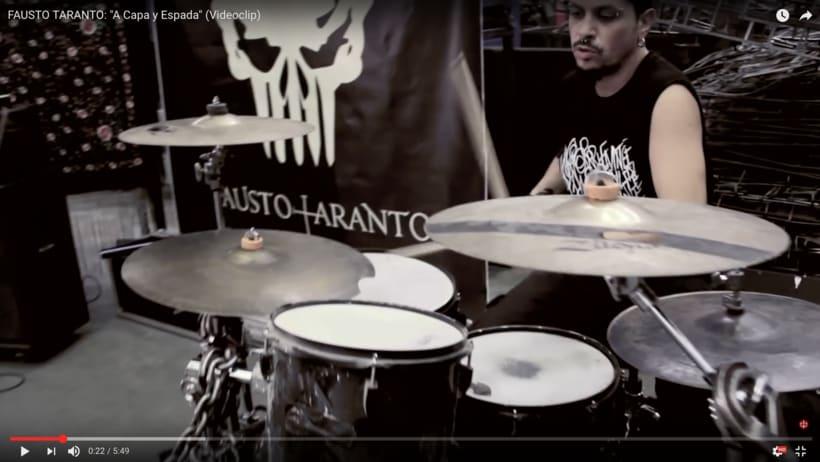 Video Clip. Fausto Taranto. Dirección, grabación y Montaje. 6