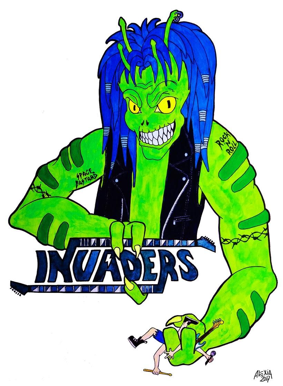 Diseño de logo para Invaders 0