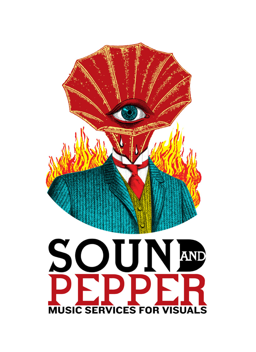 Sound and Peppers, logotipo para productora de musica 0