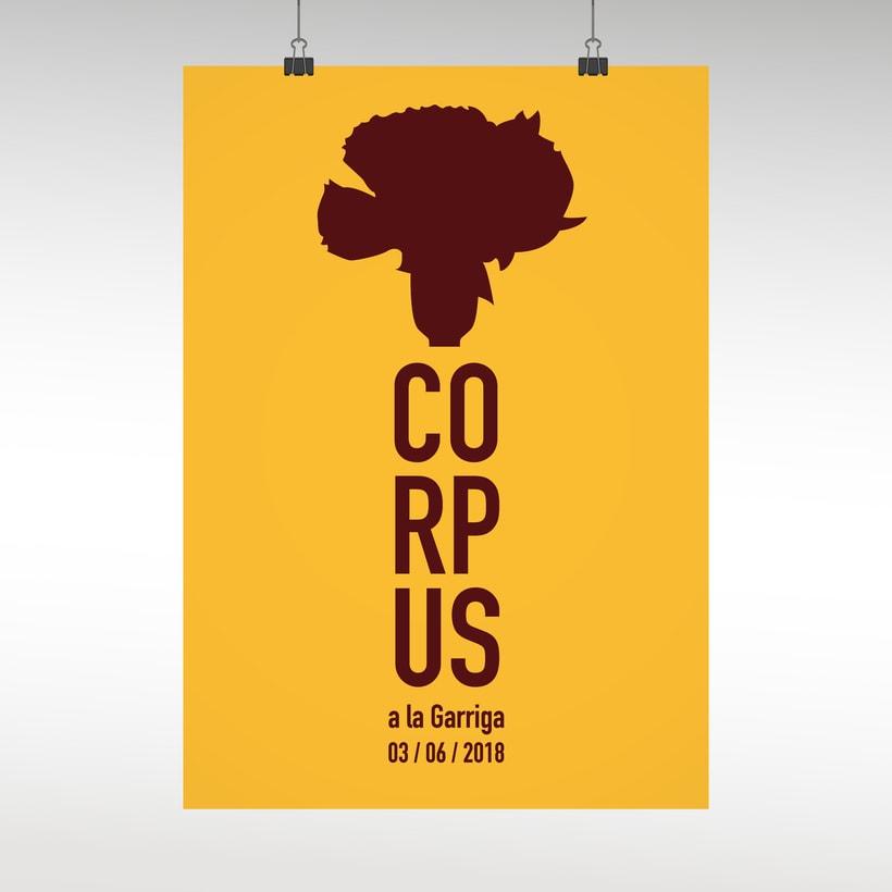 Cartel Corpus La Garriga 1