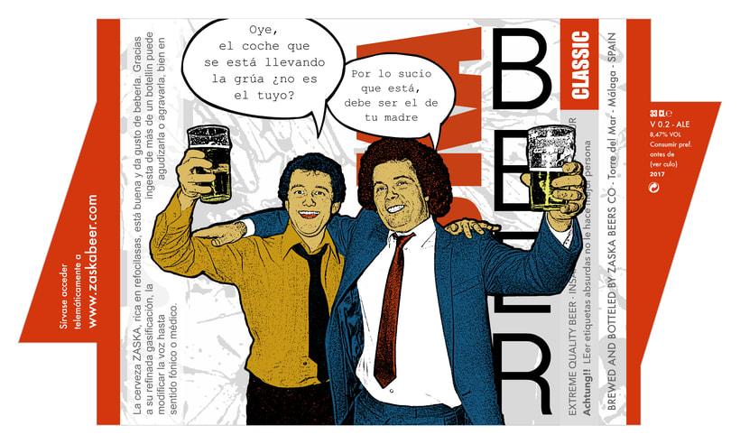 Zaska Beer - Cerveza Zaska 8
