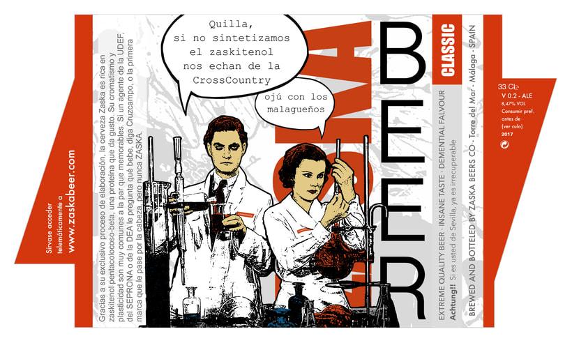 Zaska Beer - Cerveza Zaska 11