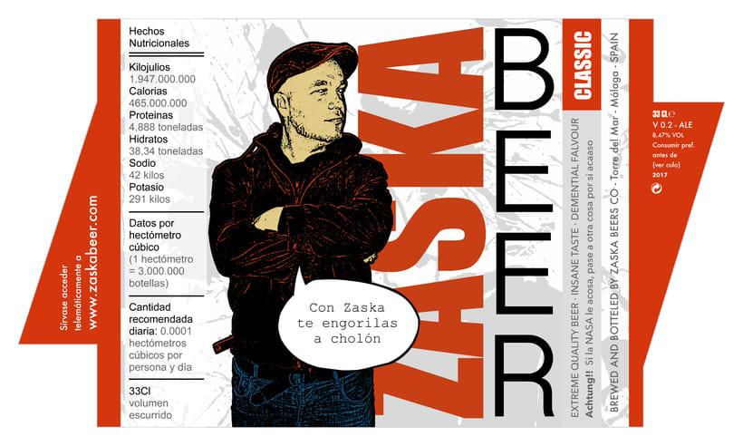Zaska Beer - Cerveza Zaska 13