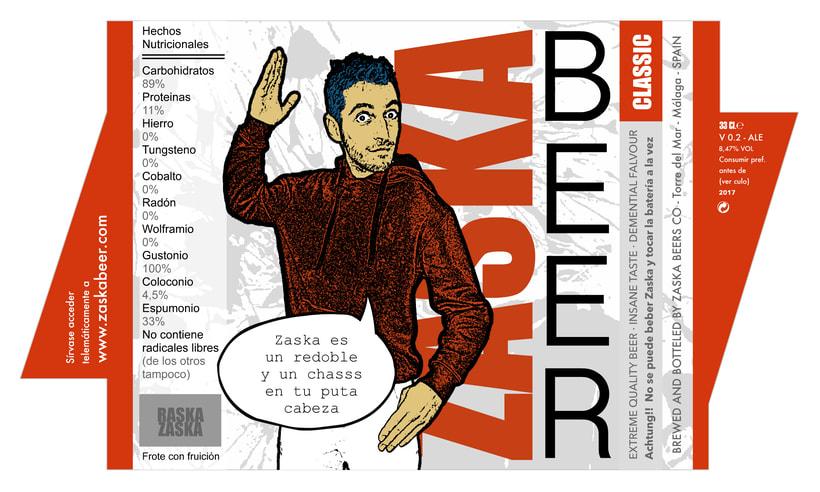 Zaska Beer - Cerveza Zaska 14