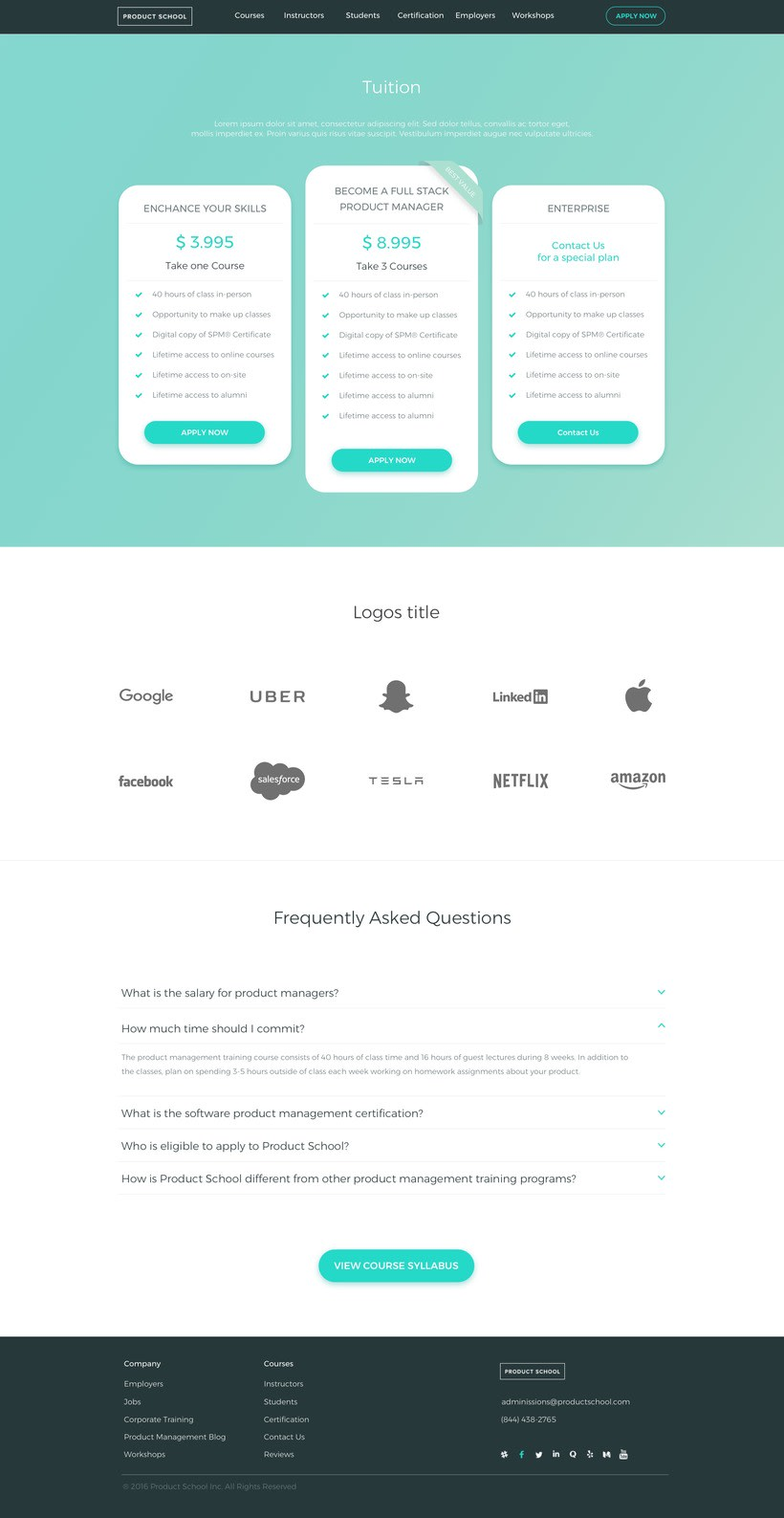Product School - Responsive Web-Design 3