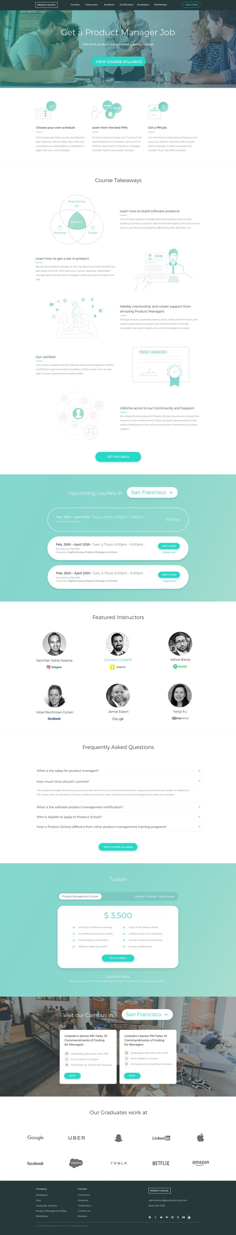 Product School - Responsive Web-Design 4