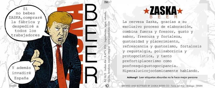 Zaska Beer - Cerveza Zaska 16