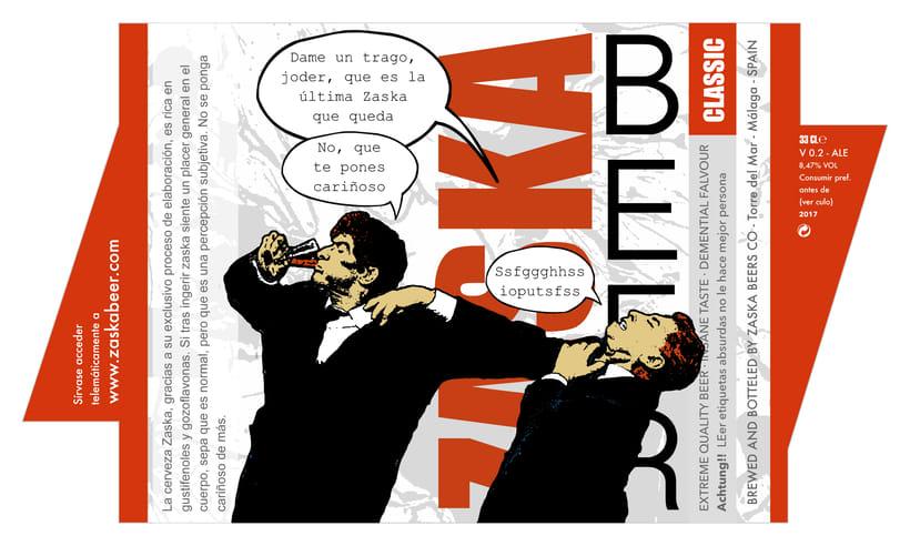 Zaska Beer - Cerveza Zaska 15