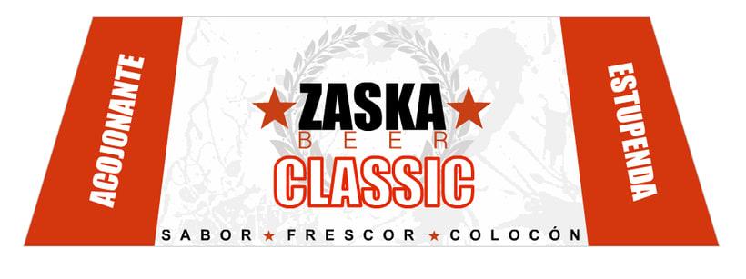 Zaska Beer - Cerveza Zaska 18