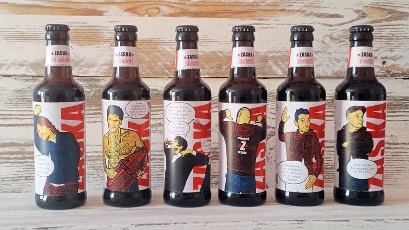 Zaska Beer - Cerveza Zaska 1