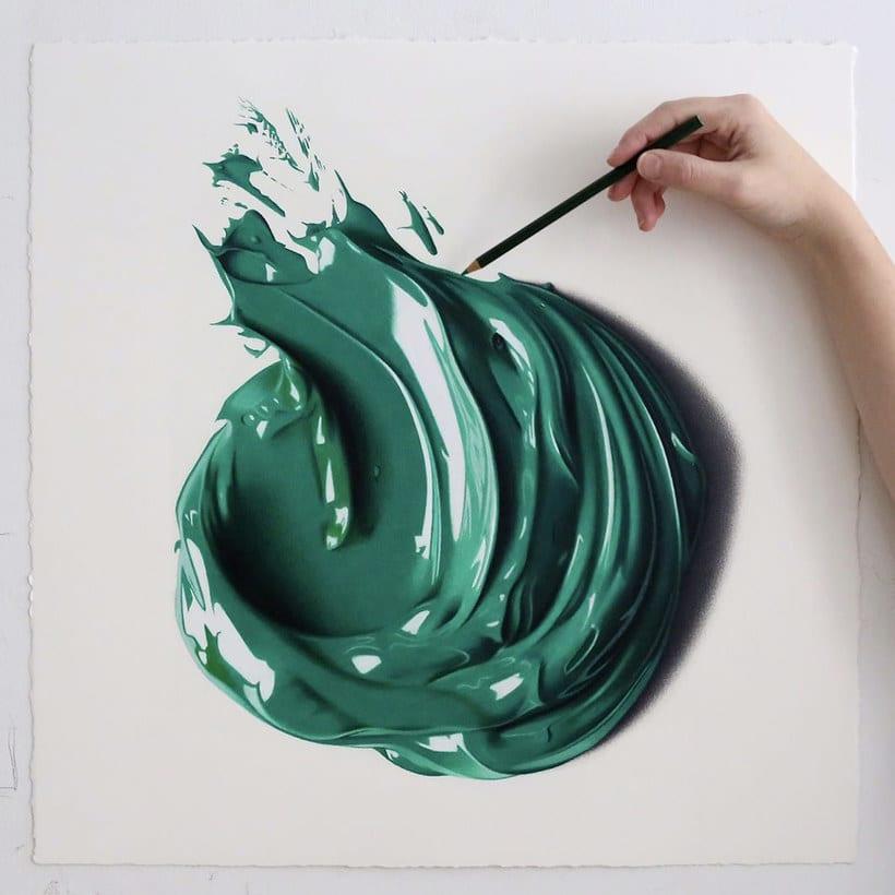 Las impresionantes pinturas a lápiz de CJ Hendry 11