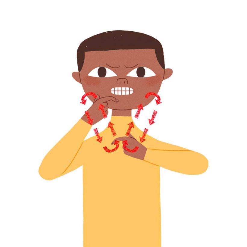 'Proud to be deaf': ilustrando el lenguaje de signos 15