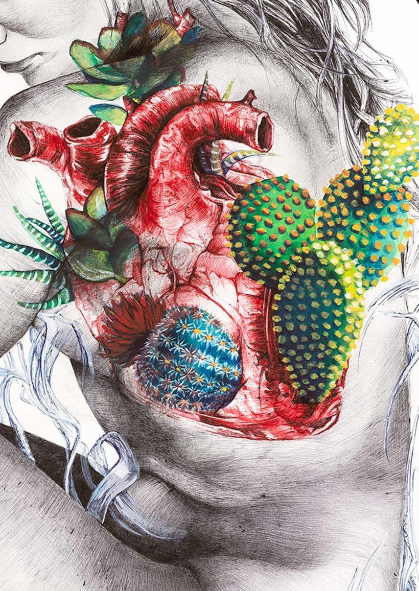 Corazón espinoso 1