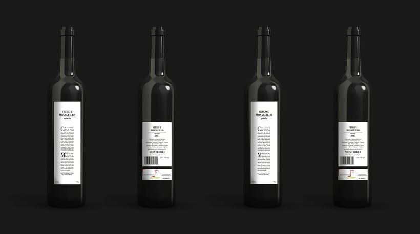 PACKAGING. Alternativa para la bodega Crego e Monaguillo 0