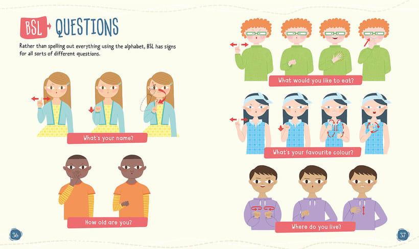 'Proud to be deaf': ilustrando el lenguaje de signos 6
