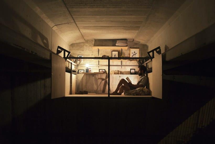 Un estudio-refugio debajo de un puente en Valencia 6