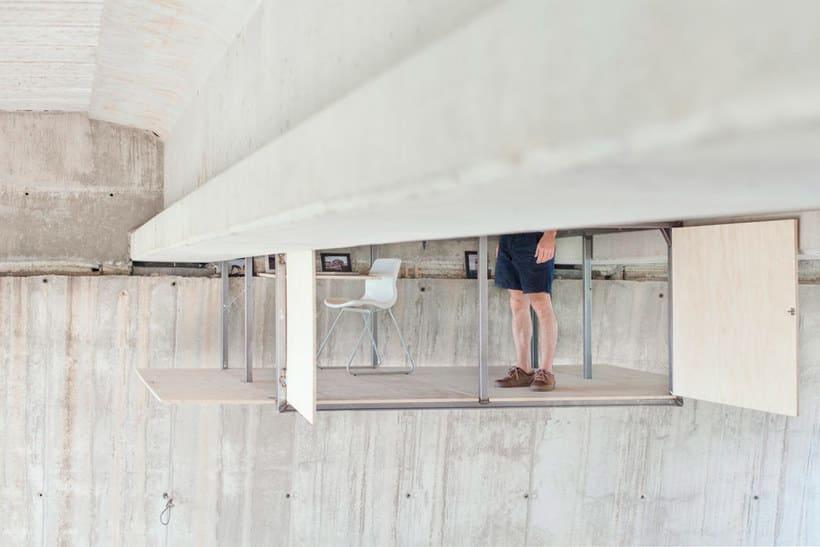 Un estudio-refugio debajo de un puente en Valencia 9
