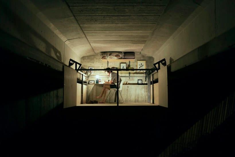 Un estudio-refugio debajo de un puente en Valencia 10
