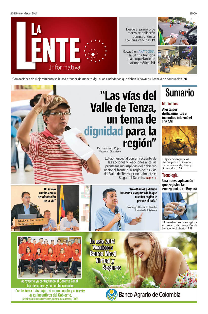 Periódico La Lente Informativa -1