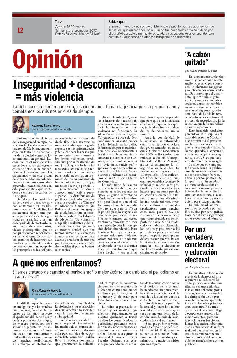 Periódico La Lente Informativa 3