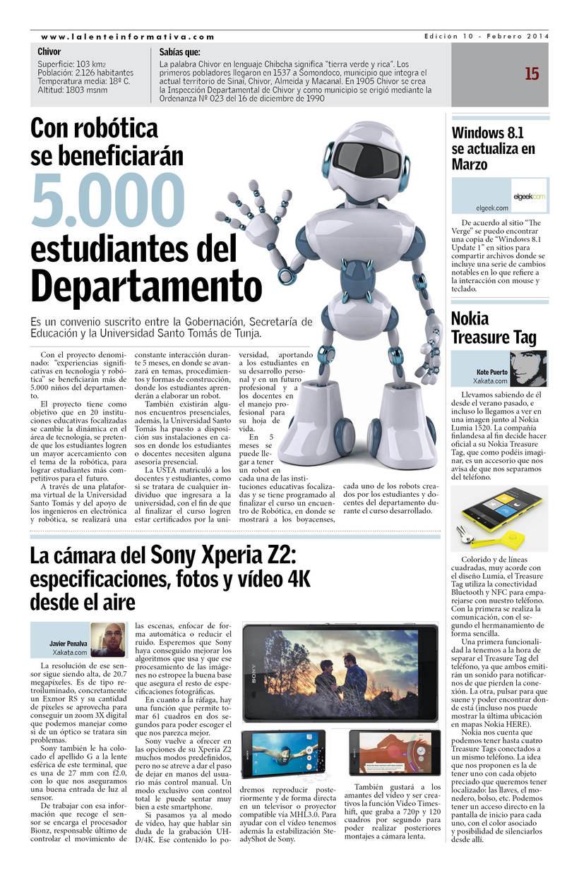 Periódico La Lente Informativa 4