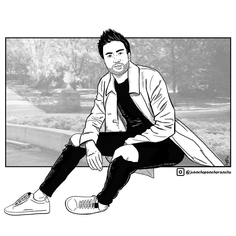 Retrato Comic 0