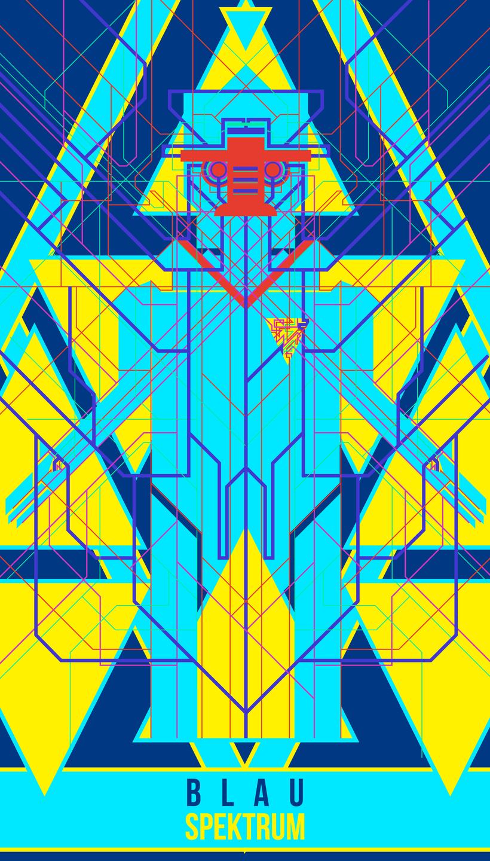 BLAU SPEKTRUM 0