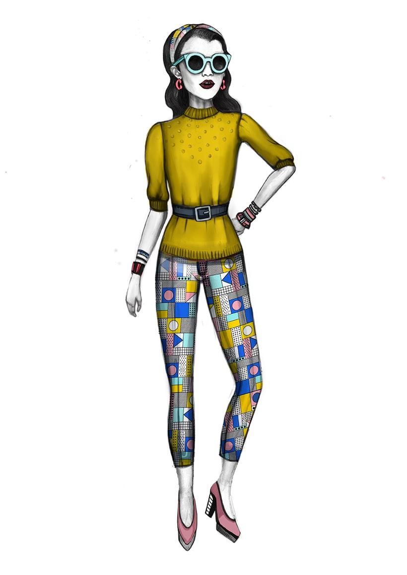 Diseño de Moda- Colección Cápsula Pop Art 0