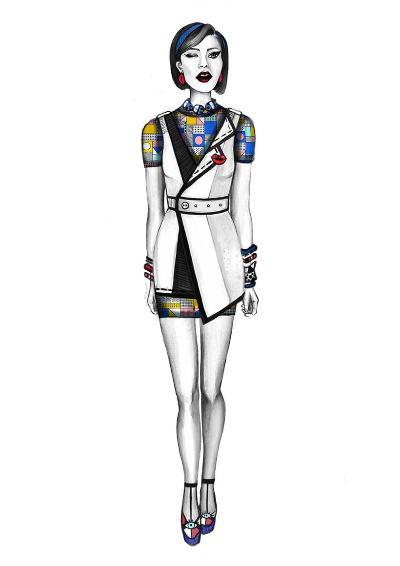 Diseño de Moda- Colección Cápsula Pop Art 1