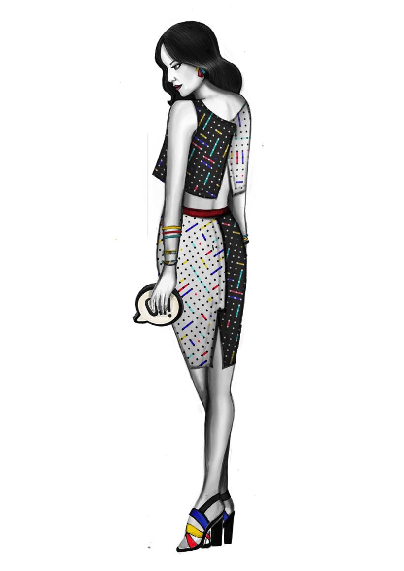 Diseño de Moda- Colección Cápsula Pop Art 2