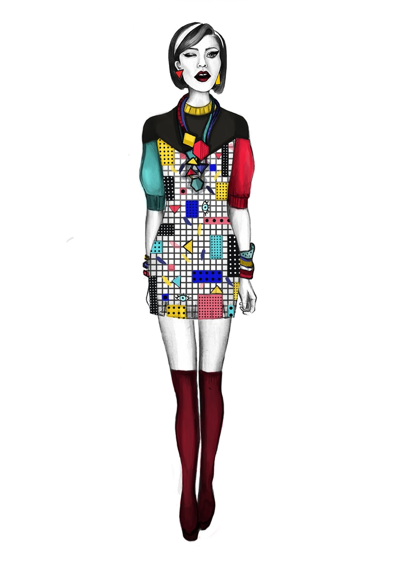 Diseño de Moda- Colección Cápsula Pop Art 3