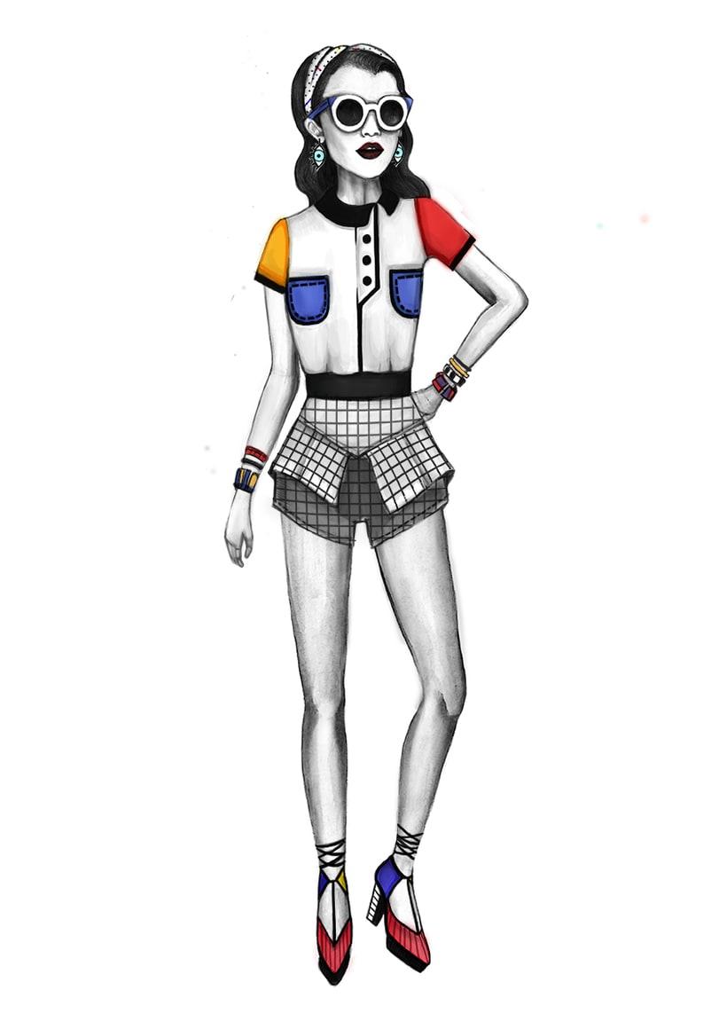 Diseño de Moda- Colección Cápsula Pop Art 5
