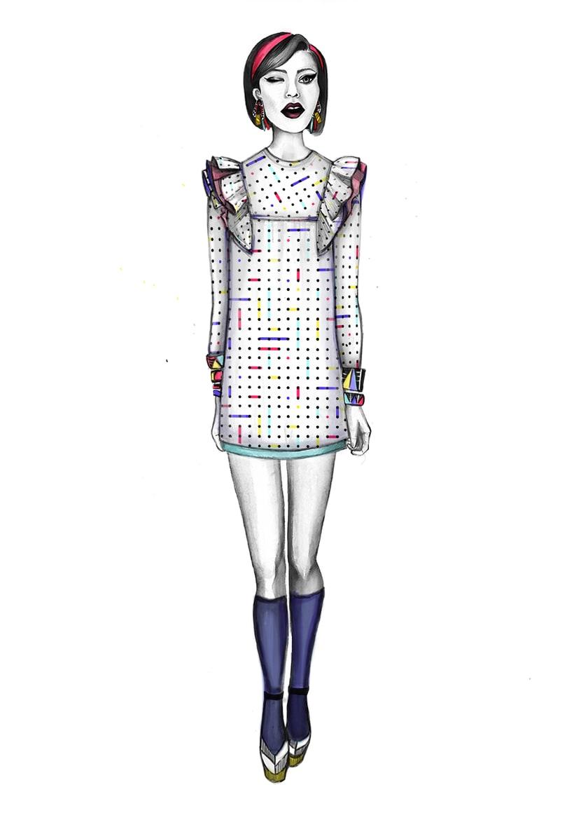 Diseño de Moda- Colección Cápsula Pop Art 7