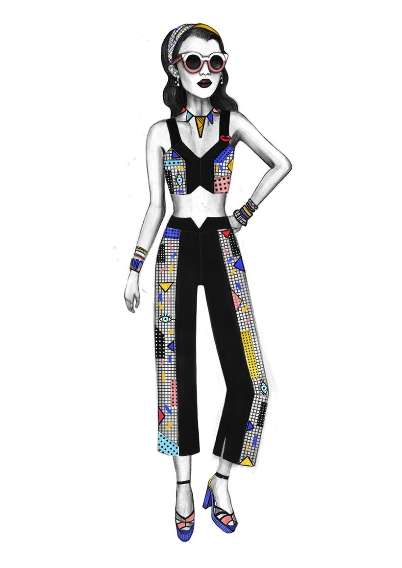 Diseño de Moda- Colección Cápsula Pop Art 8