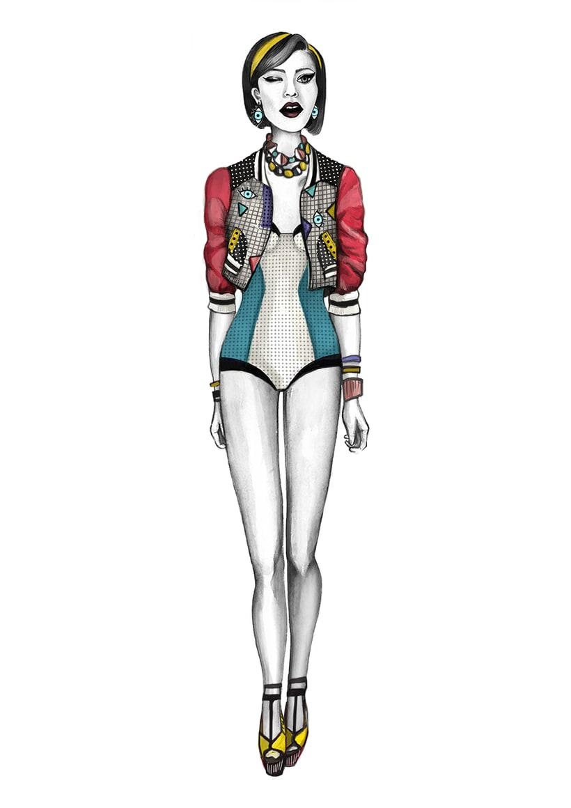 Diseño de Moda- Colección Cápsula Pop Art 9